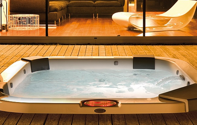 <span>Wellness i SPA program</span> Jacuzzi Santorini Pro Sound