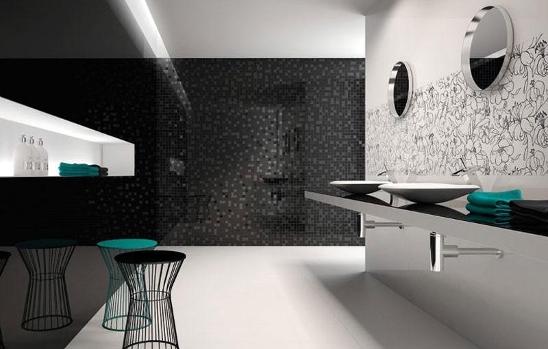 <span>Keramičke pločice Ibero Porcelanico</span> Black and White