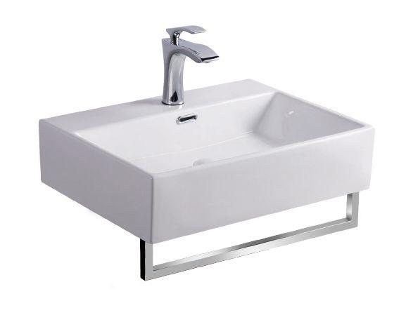 <span>Kupaonska oprema</span> Umivaonik CUBO s držačem za ručnik