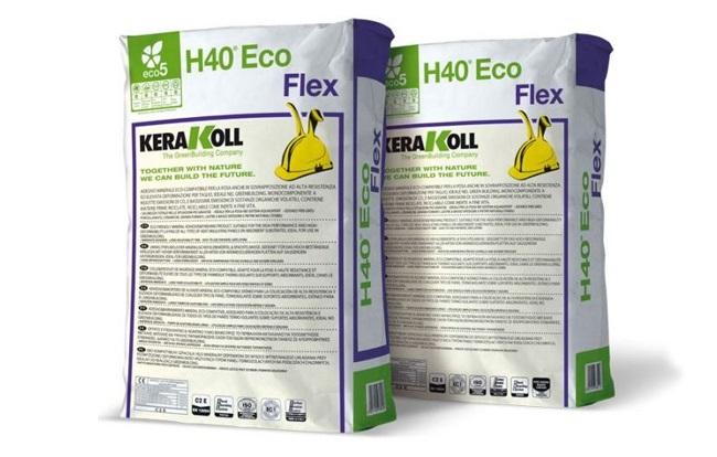 <span>Kerakoll ljepila i hidroizolacije</span> H40 Eco Flex - fleksibilno ljepilo