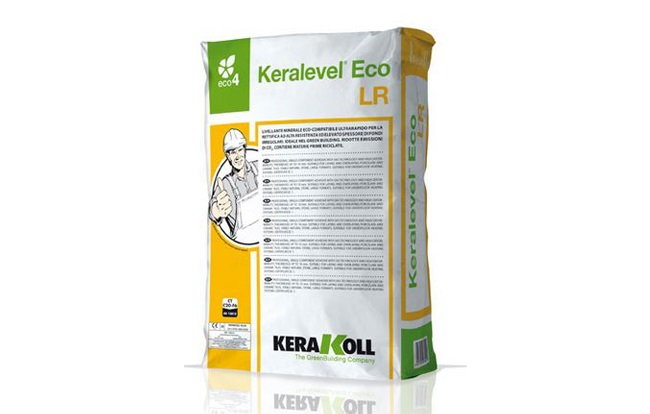 <span>Kerakoll ljepila i hidroizolacije</span> Keralevel Eco LR - masa za izravnavanje