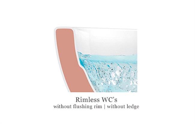 VILLEROY&BOCH – Inovativne wc školjke i pisoari Rimless DirectFlush