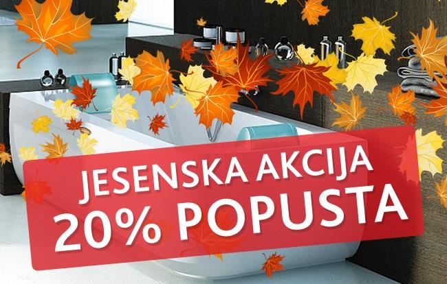Jesenska akcija - POPUST 20%